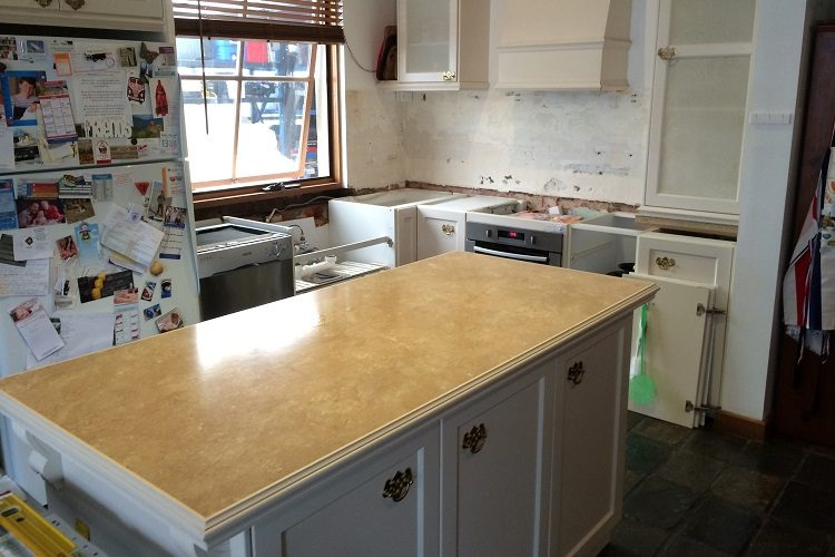 Cheltenham Benchtop Replacement, Before Transformation, Transform-A-Space