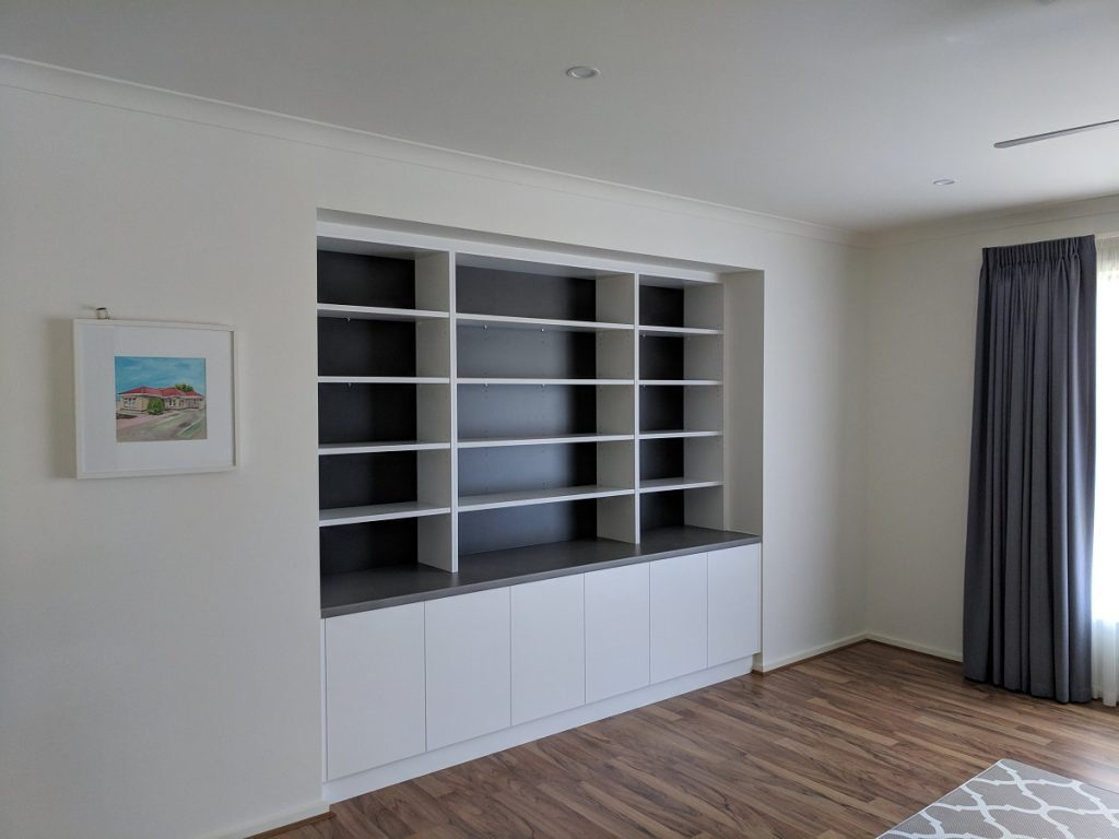 Bookshelf Cabinetry, Lightsview