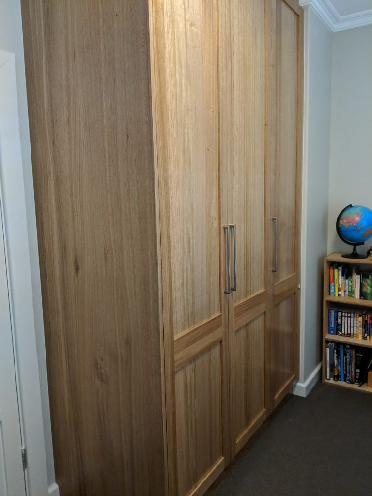 Tasmanian Oak Hinged Wardrobe, Magill