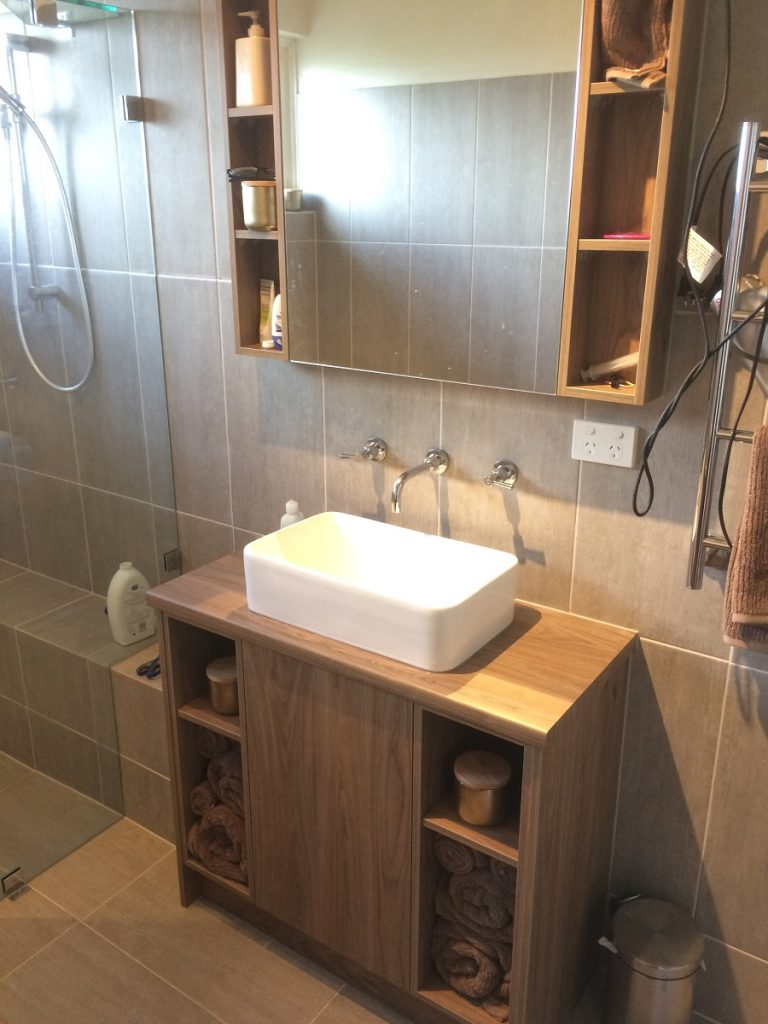 Bathroom Vanity & Mirror Cabinet, Plympton