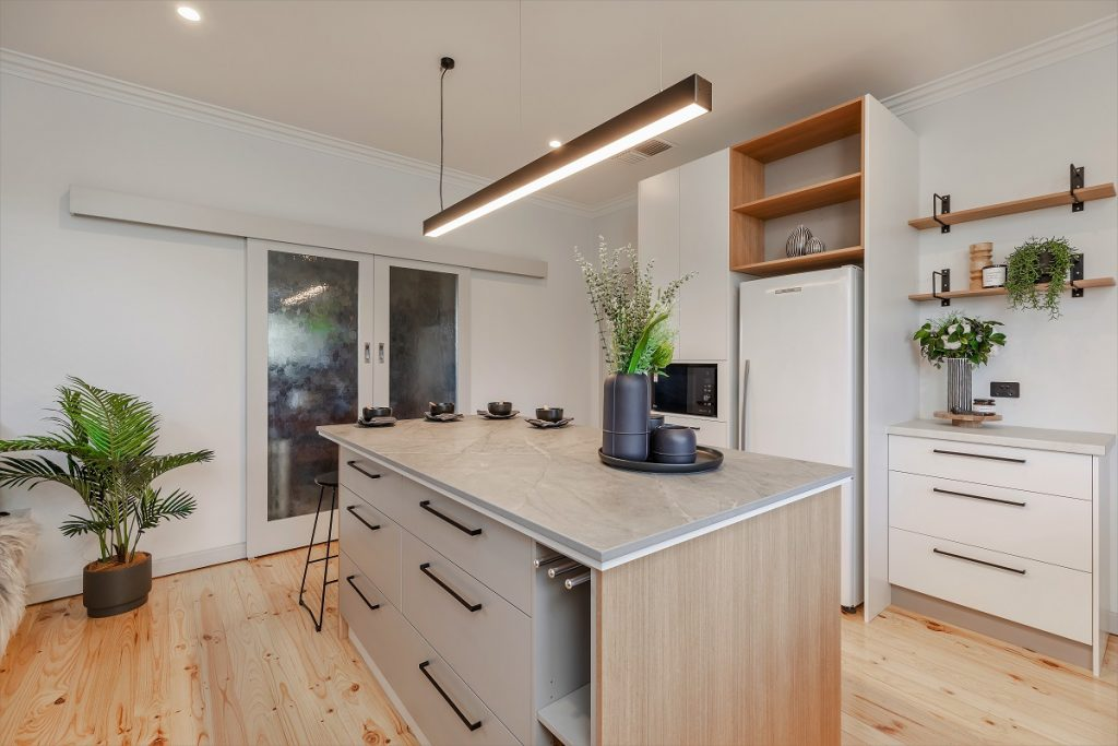 Woodforde, Kitchen Gallery, Transform-A-Space